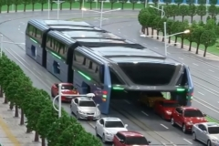 entry 8 transit elevated bus china