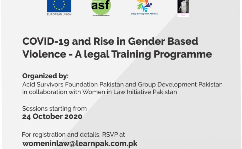 Online Legal Training Programme with ASF, GDP and EU