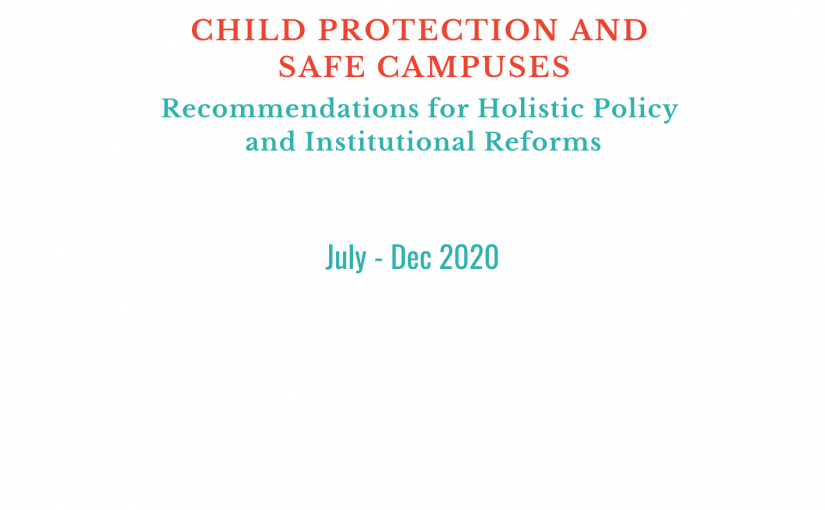Press Release: Institutional Reforms and Holistic Policy Recommendations for Child Protection in Educational Settings